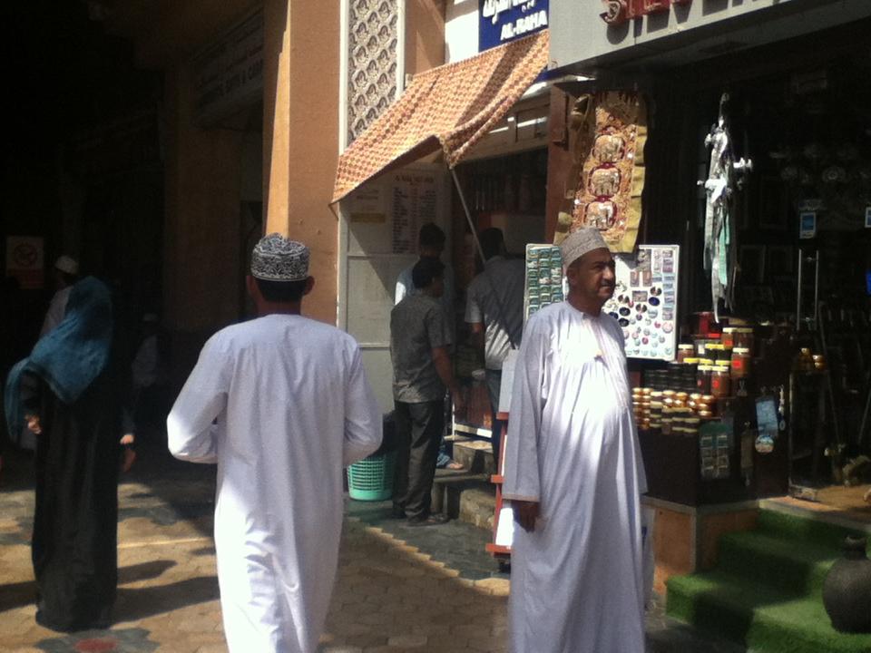 アラビアの雰囲気を残す バザール