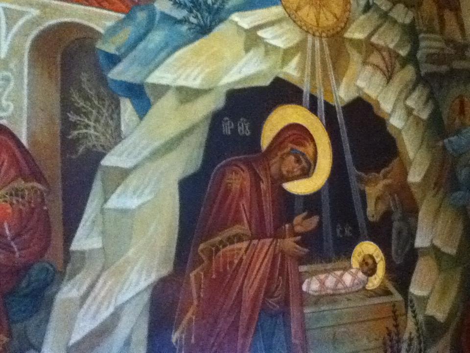 2015年 キリスト生誕教会内